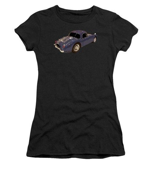 Classic Sports Blue Rear Women's T-Shirt