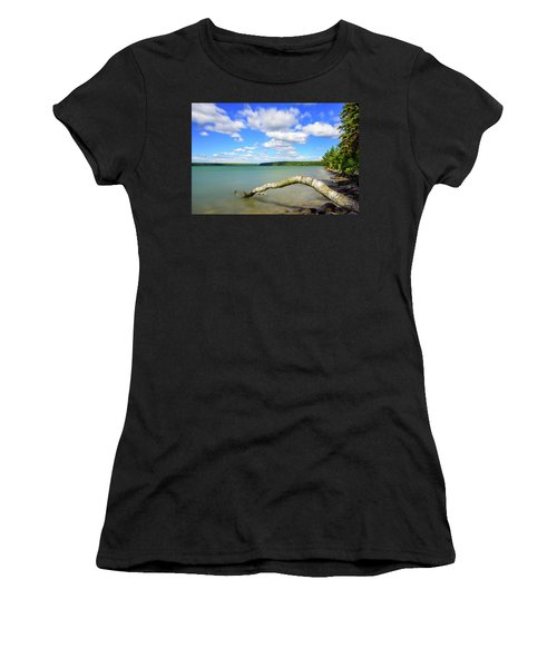 Clear Lake Women's T-Shirt (Athletic Fit)