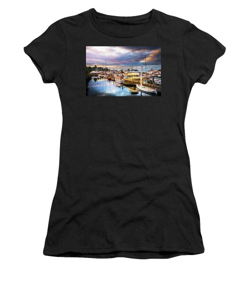 Clearing Storm Over The Pacific Ocean Women's T-Shirt