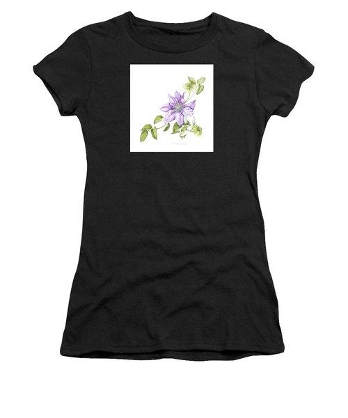 Clematis Cezanne Women's T-Shirt