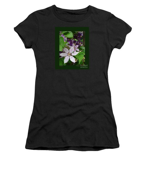 Clematis-ii Women's T-Shirt (Athletic Fit)