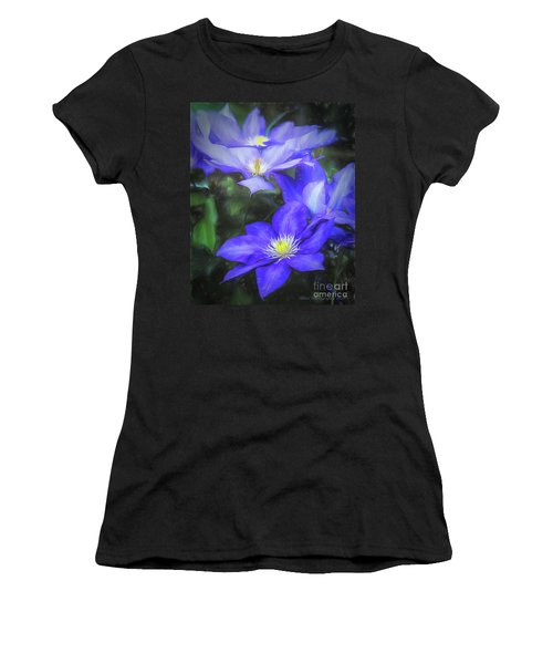 Clematis Women's T-Shirt (Athletic Fit)