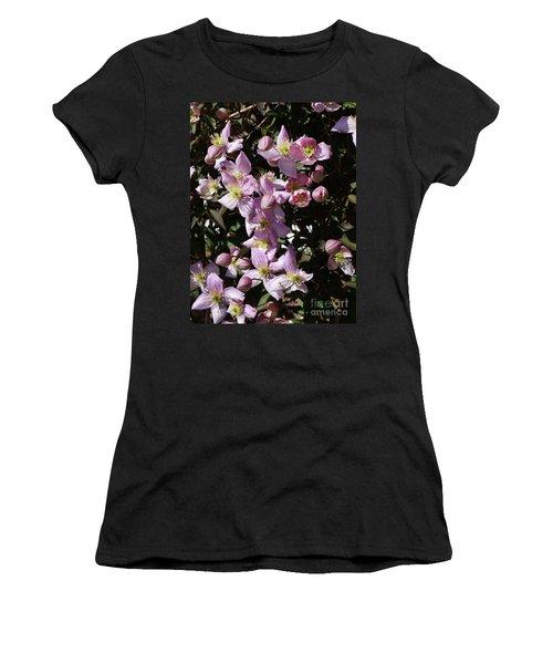 Clematis Montana  In Full Bloom Women's T-Shirt