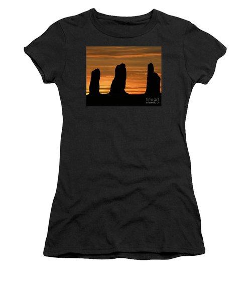 Clent Hills Sunset Women's T-Shirt (Athletic Fit)