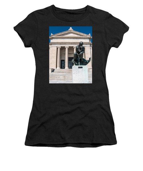 Cleveland Museum Of Art, The Thinker Women's T-Shirt