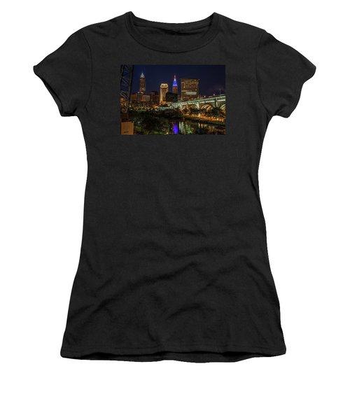 Cleveland Nightscape Women's T-Shirt