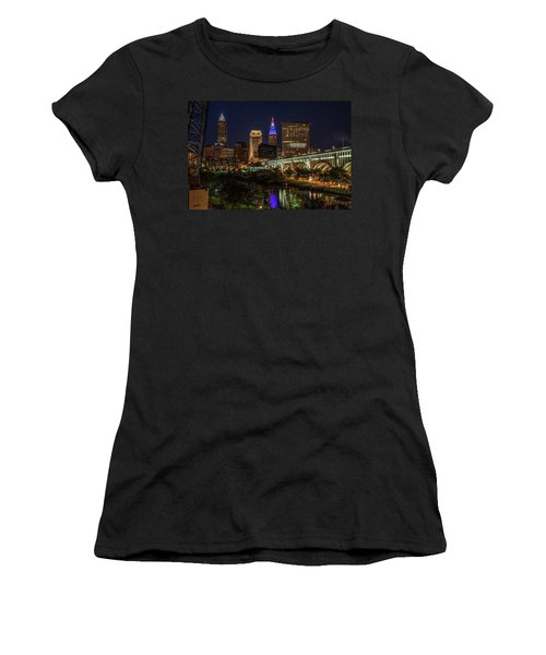 Cleveland Nightscape Women's T-Shirt