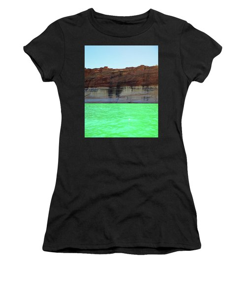 Cliff At Lake Powell Women's T-Shirt