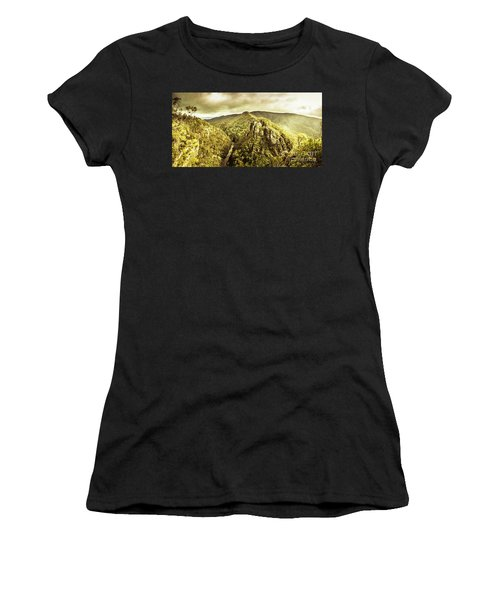 Cliffs, Steams And Valleys Women's T-Shirt