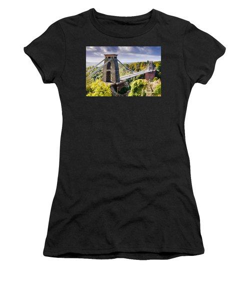 Clifton Suspension Bridge Women's T-Shirt
