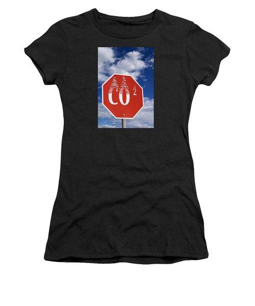 Climate Change Women's T-Shirt (Athletic Fit)