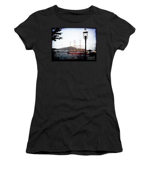 Clipper Ship Women's T-Shirt (Athletic Fit)