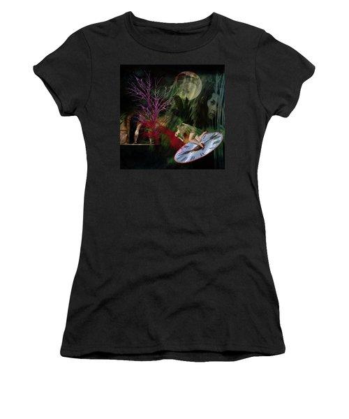 Clock Hair Disaster Women's T-Shirt