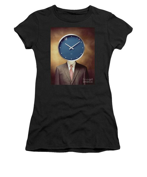 Clockhead Women's T-Shirt (Athletic Fit)