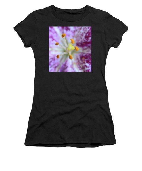 Close Up Flower Women's T-Shirt (Athletic Fit)