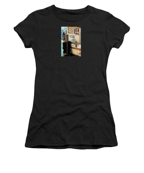 Women's T-Shirt (Junior Cut) featuring the photograph Closed For Christmas by Joe Jake Pratt