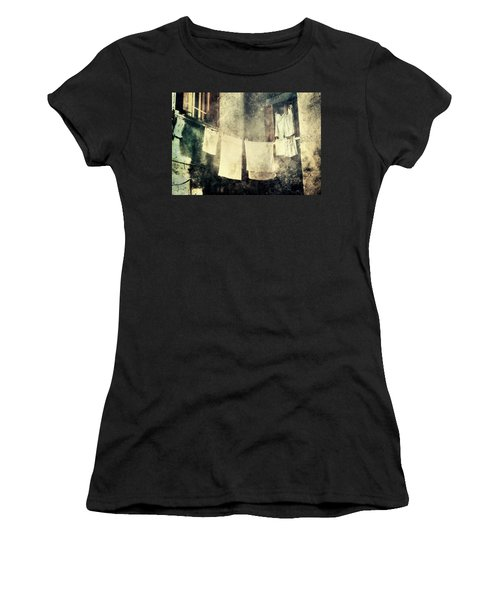 Clothes Hanging Women's T-Shirt