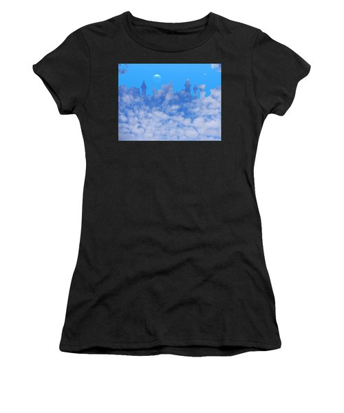 Cloud Castle Women's T-Shirt (Athletic Fit)