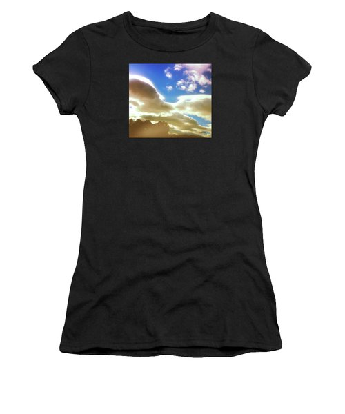 Cloud Drama Over Sangre De Cristos Women's T-Shirt (Athletic Fit)