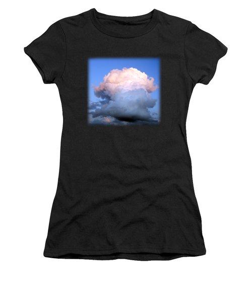 Cloud Explosion T-shirt Women's T-Shirt (Athletic Fit)