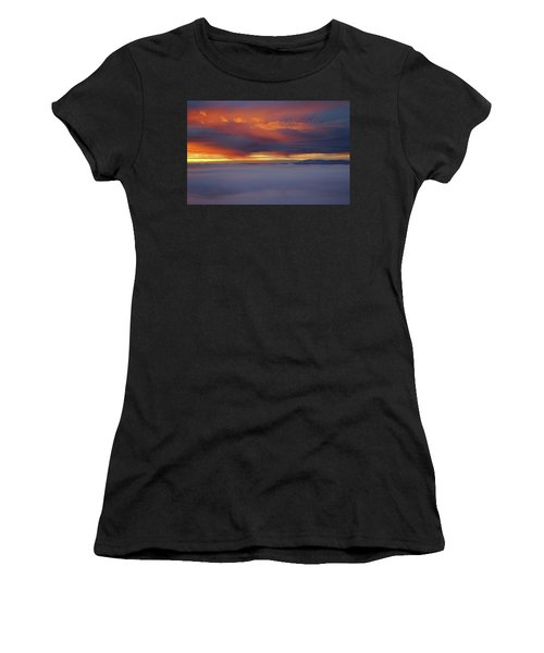 Cloud Layer Sunrise At Dead Horse Point State Park Women's T-Shirt (Athletic Fit)