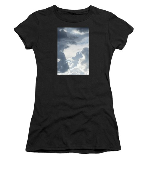 Cloud Painting Women's T-Shirt (Athletic Fit)