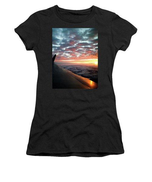 Cloud Sunrise Women's T-Shirt (Athletic Fit)