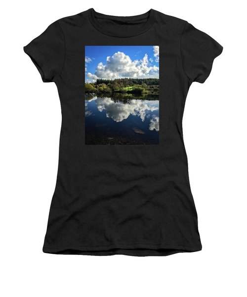 Women's T-Shirt (Athletic Fit) featuring the photograph Clouded Visions by Geoff Smith