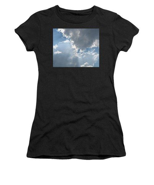 Clouds 1 Women's T-Shirt (Athletic Fit)