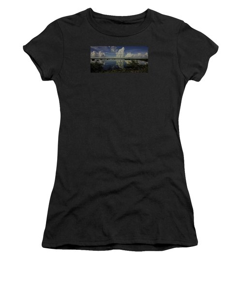 Clouds And Reflections Women's T-Shirt (Junior Cut) by Dorothy Cunningham