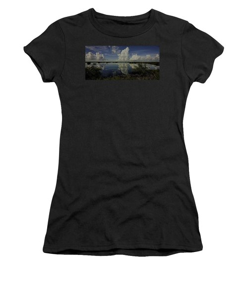 Clouds And Reflections Women's T-Shirt