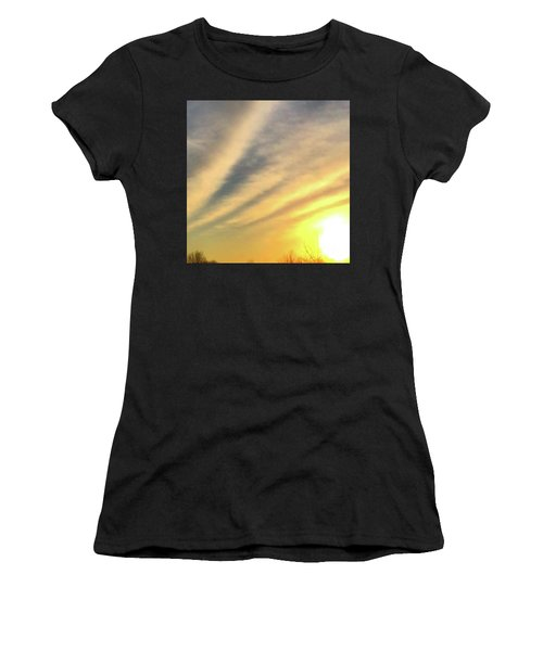 Clouds And Sun Women's T-Shirt