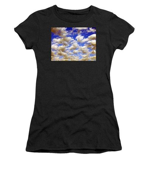 Clouds Blue Sky Women's T-Shirt