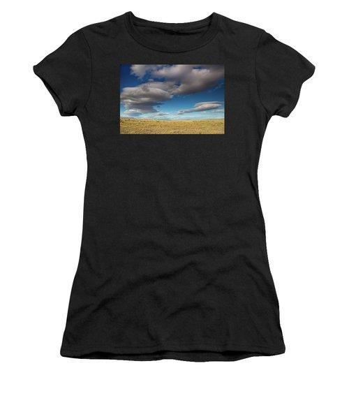 Clouds In Fields Oregon Women's T-Shirt