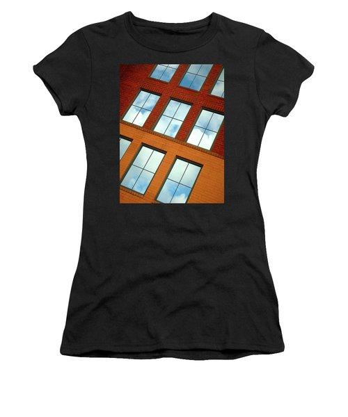 Clouds In The Windows Women's T-Shirt (Athletic Fit)