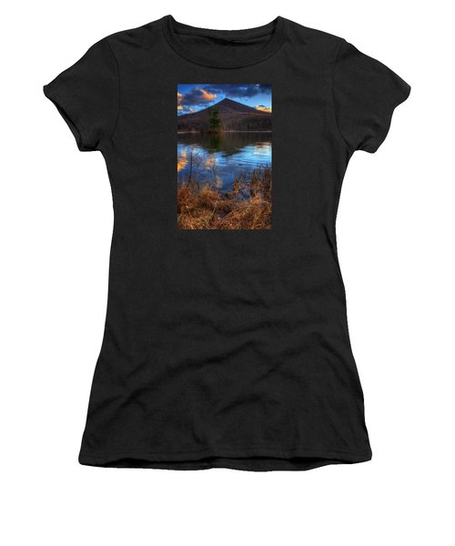 Clouds On Abbott Lake Women's T-Shirt (Athletic Fit)