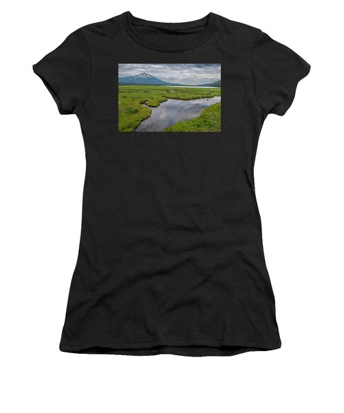 Clouds Over Sparks Women's T-Shirt (Athletic Fit)