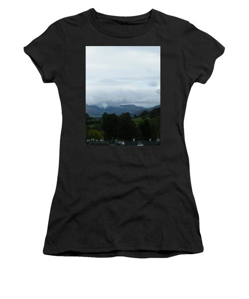 Cloudy View Women's T-Shirt (Athletic Fit)