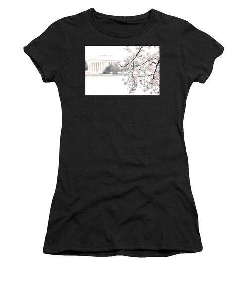 Cloudy With A Chance Of Tourists Women's T-Shirt