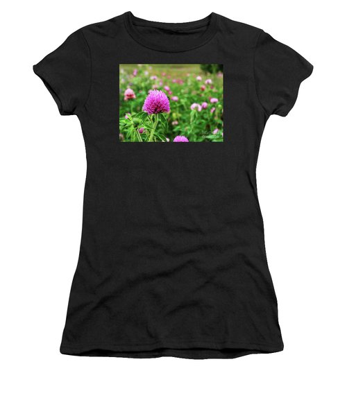Clover Field Women's T-Shirt (Athletic Fit)