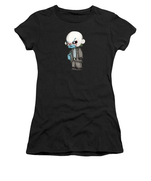 Clown Bank Robber Plush Women's T-Shirt