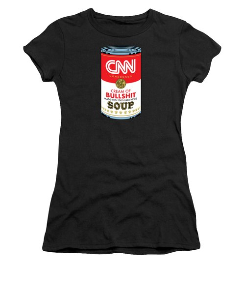 Cnn Soup Can Women's T-Shirt (Athletic Fit)