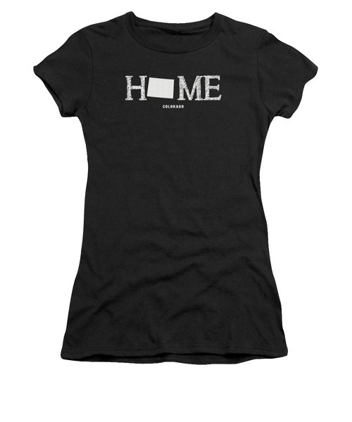 Women's T-Shirt featuring the mixed media Co Home by Nancy Ingersoll