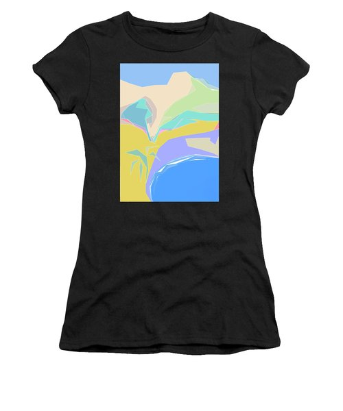 Coast Of Azure Women's T-Shirt