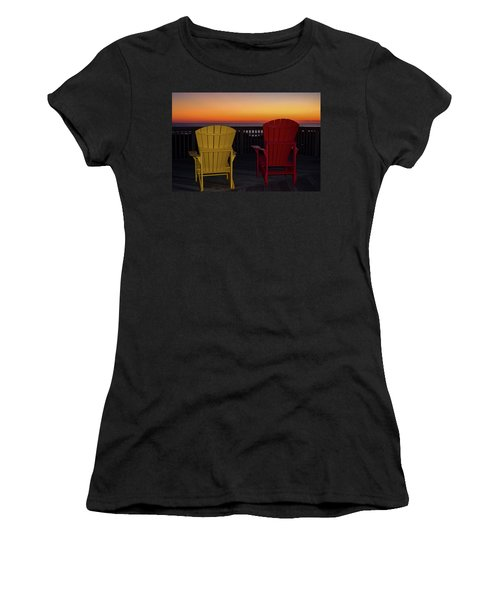 Coastal Mornings Women's T-Shirt