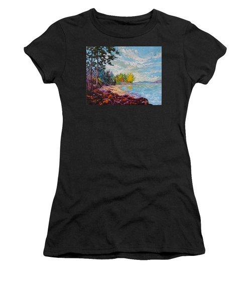 Coastal View Women's T-Shirt (Athletic Fit)