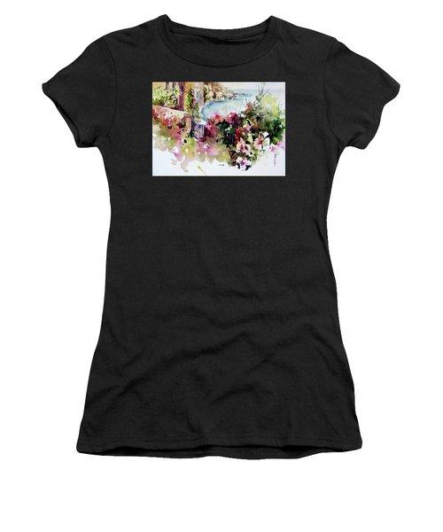 Coastal Vista Women's T-Shirt (Athletic Fit)
