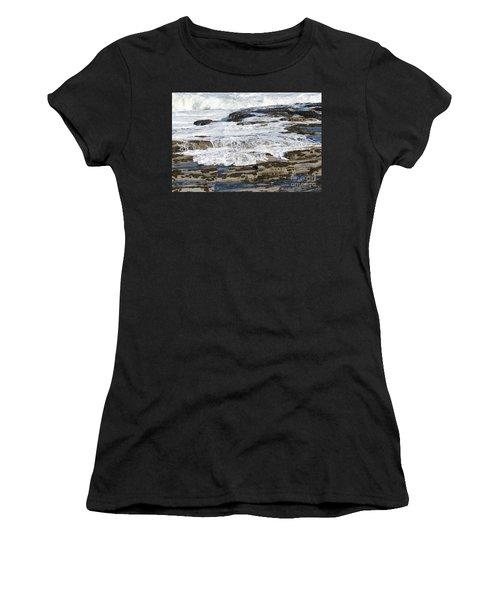Coastal Washout Women's T-Shirt (Athletic Fit)