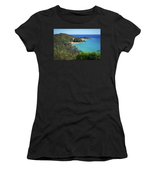 Coastline Views On Moreton Island Women's T-Shirt