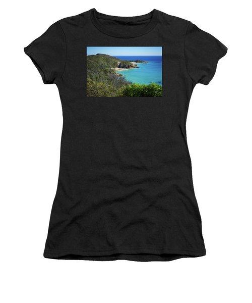 Coastline Views On Moreton Island Women's T-Shirt
